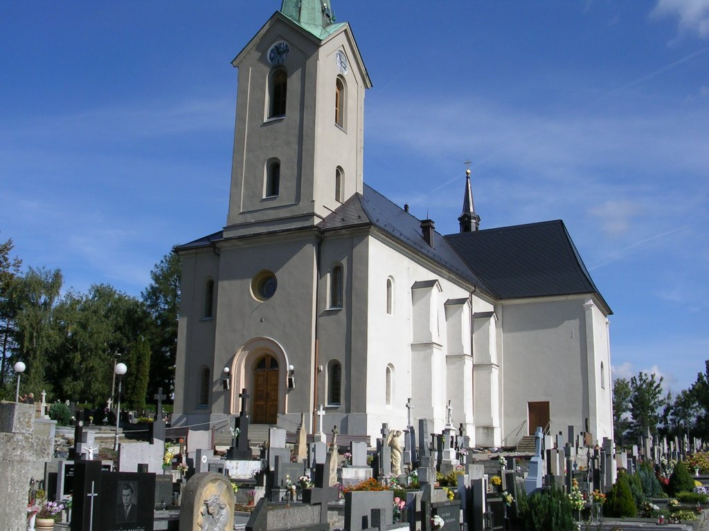 Kostel -Slavičín