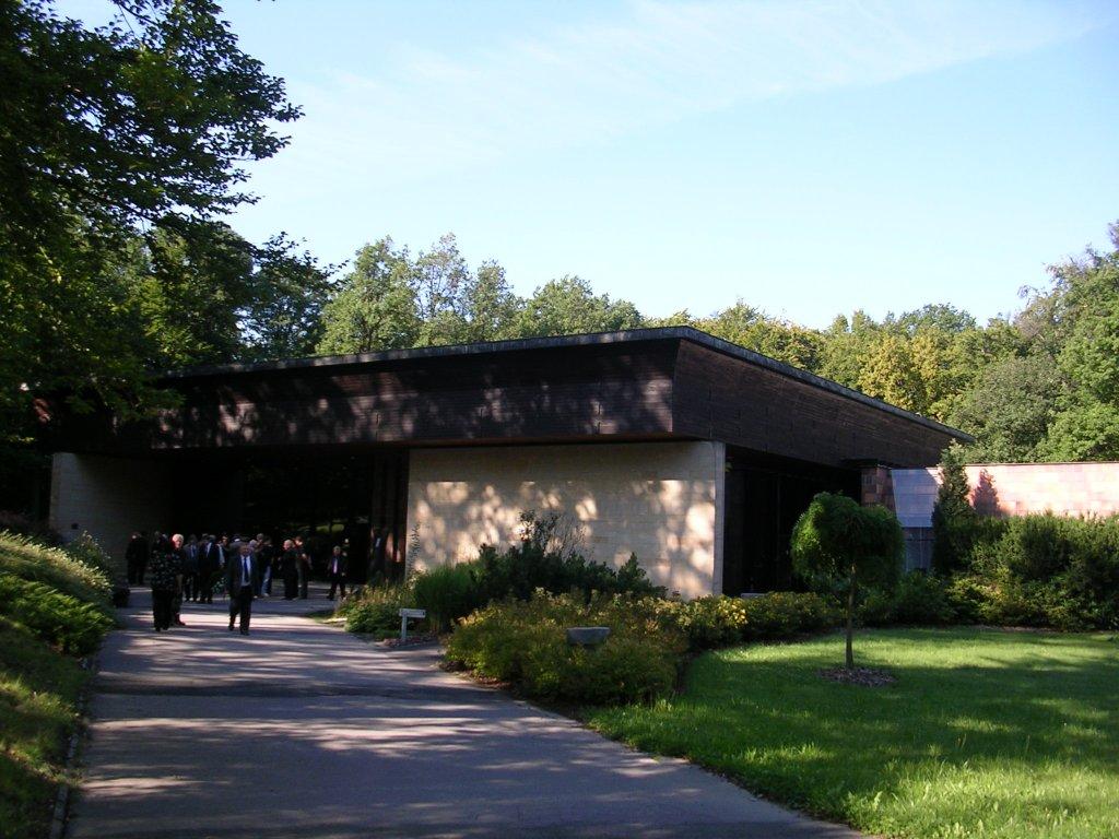 Obřadní síň - krematorium Zlín