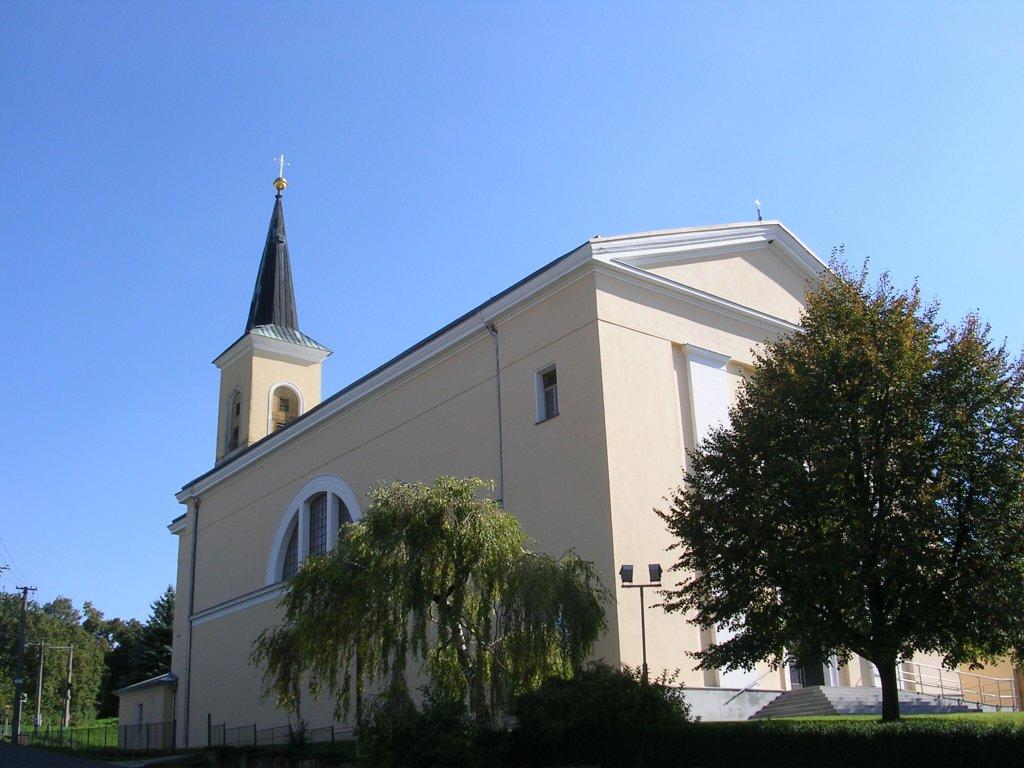 Kostel - Újezdec u Luhačovic